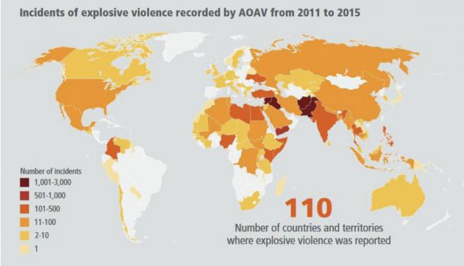 AOAV 2011 2015 countries